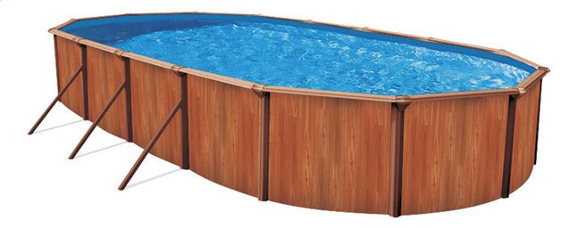 Image pour Atlantic Pools piscine Esprit II Redwood 5,49 x 3,66 m à partir de DreamLand