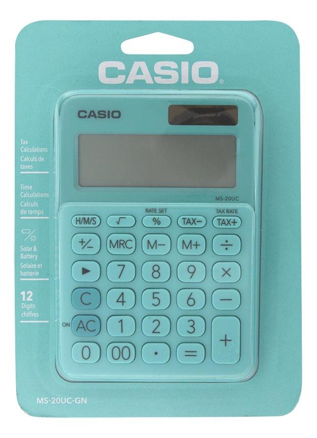 Image pour Casio calculatrice Colorful MS-20UC vert clair à partir de DreamLand