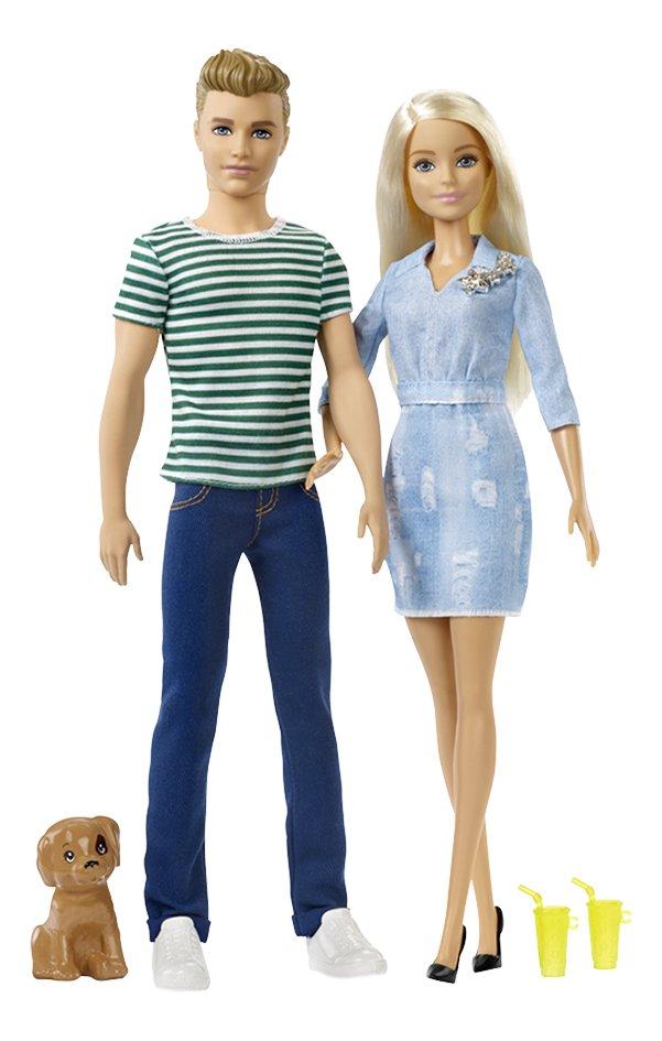 Image pour Barbie poupée mannequin  Barbie et Ken avec chiot à partir de DreamLand