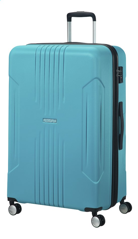 Afbeelding van American Tourister Harde reistrolley Tracklite Spinner sky blue from DreamLand