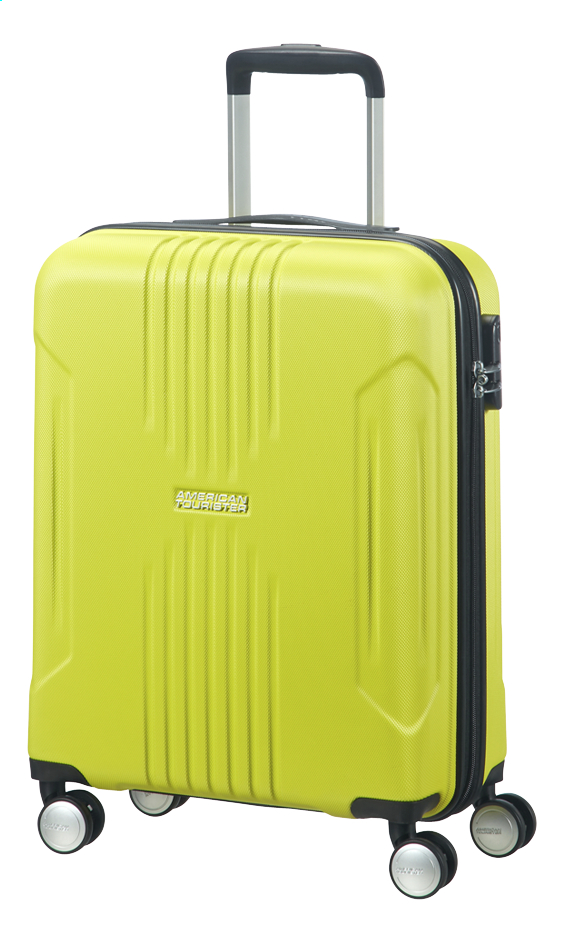 Afbeelding van American Tourister Harde reistrolley Tracklite Spinner sunny lime 55 cm from DreamLand