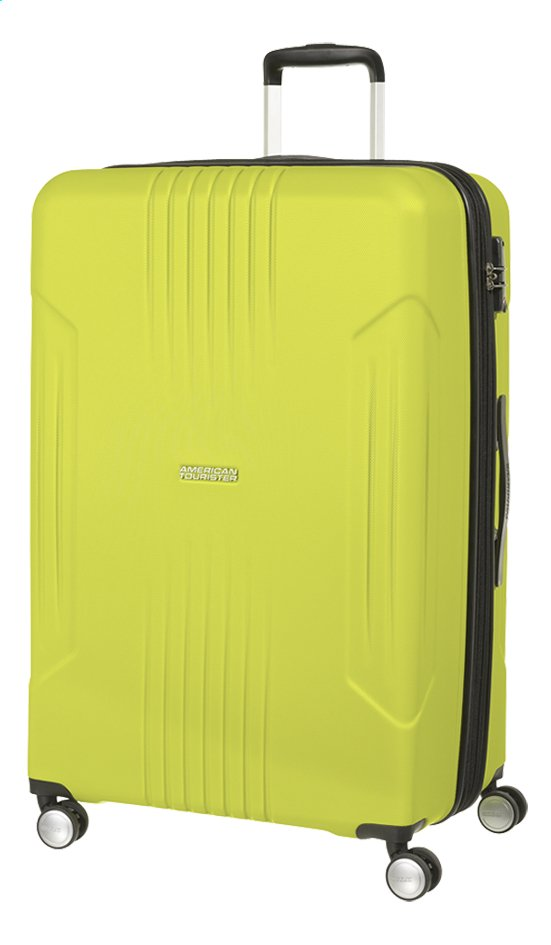 Afbeelding van American Tourister Harde reistrolley Tracklite Spinner sunny lime from DreamLand