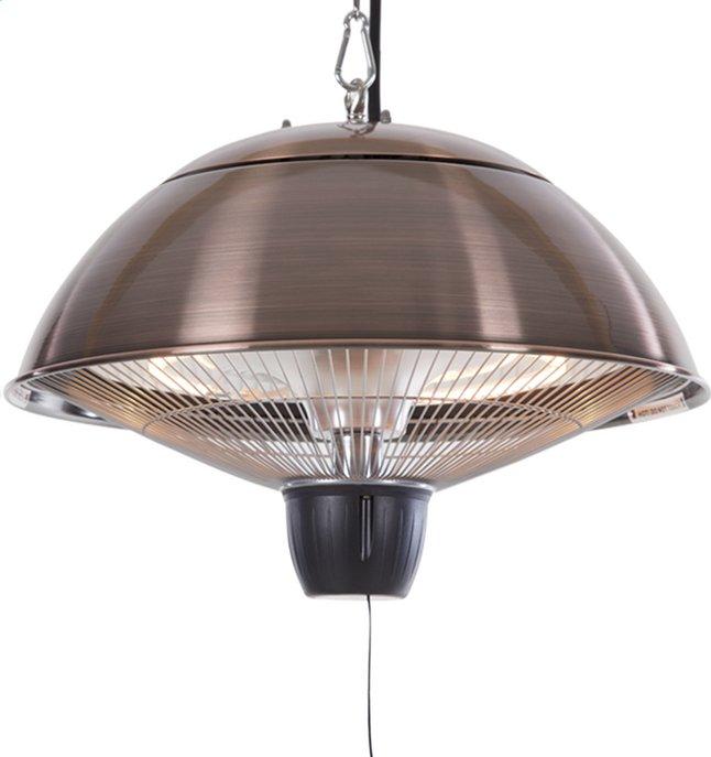 Afbeelding van Sunred Elektrische hangende terrasverwarmer Mushroom 1500 W koper from DreamLand