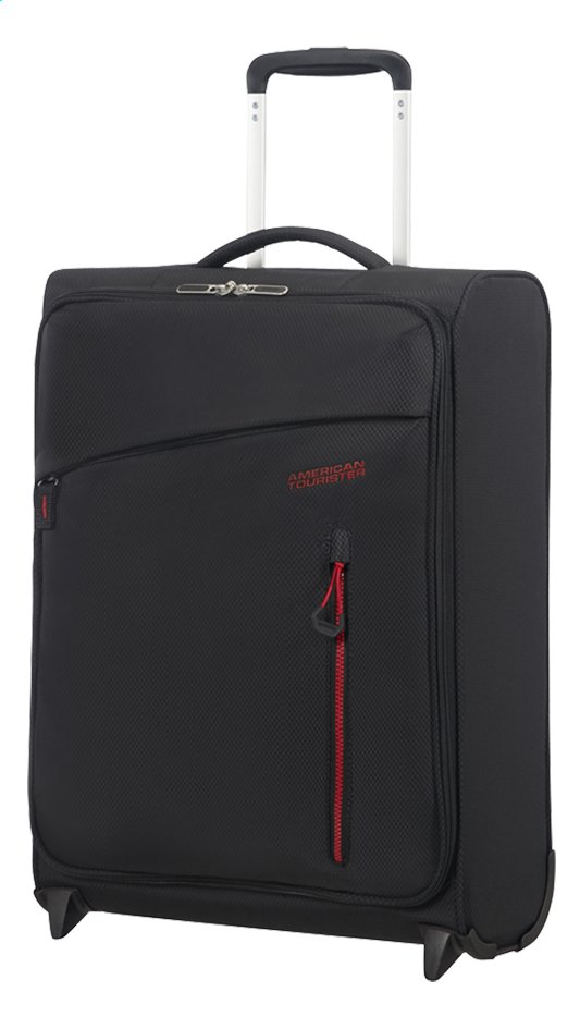 Afbeelding van American Tourister Zachte reistrolley Litewing Upright volcanic black 55 cm from DreamLand