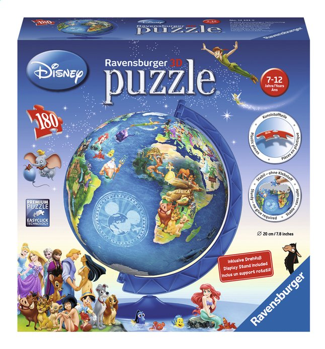 Afbeelding van Ravensburger Puzzleball Disney from DreamLand
