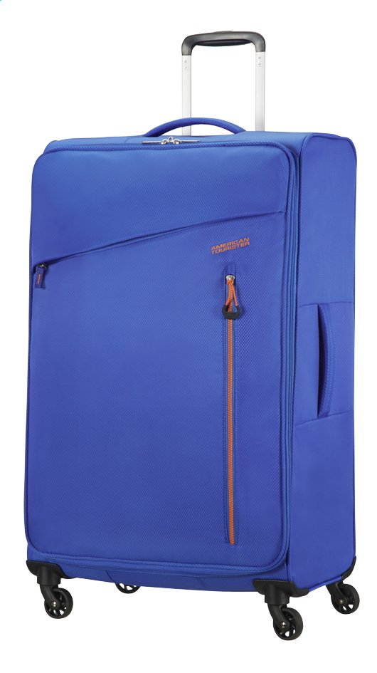 Afbeelding van American Tourister Zachte reistrolley Litewing Spinner racing blue from DreamLand