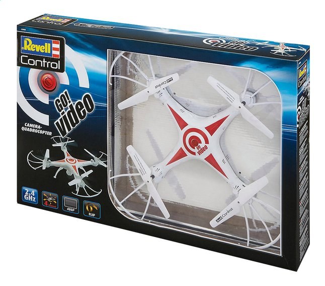 Afbeelding van Revell Control drone Go! Video from DreamLand