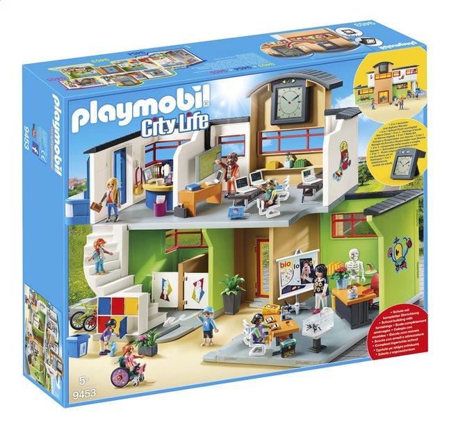 Image Pour PLAYMOBIL City Life 9453 École Aménagée à Partir De DreamLand