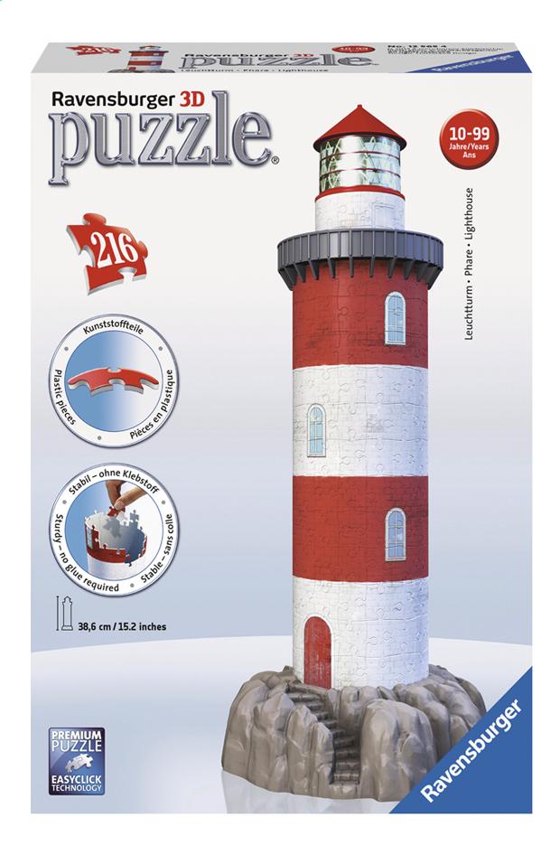 Afbeelding van Ravensburger 3D-puzzel Vuurtoren in de branding from DreamLand
