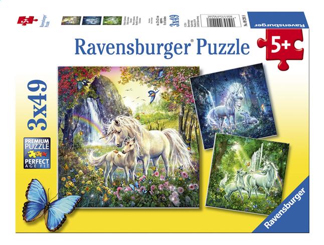 Image pour Ravensburger puzzle 3 en 1 Belles licornes à partir de DreamLand