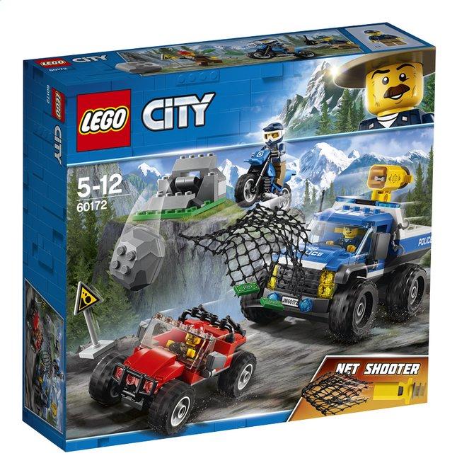 Afbeelding van LEGO City 60172 Modderwegachtervolging from DreamLand