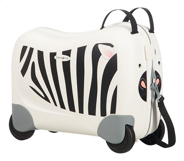 Afbeelding van Samsonite Harde reistrolley Dream Rider Zebra Zeno 39 cm from DreamLand