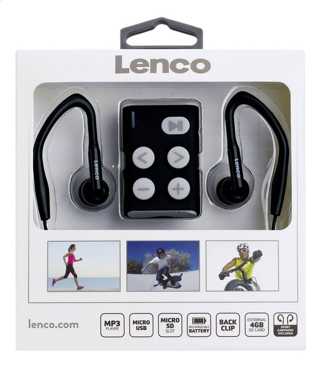 Lenco lecteur MP3 Xemio 154 4 Go gris