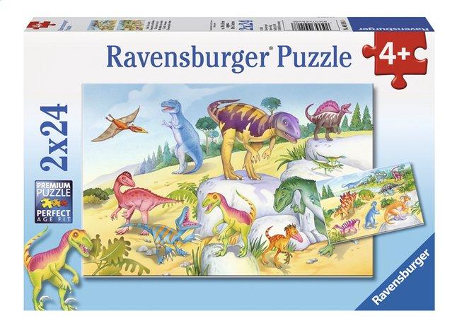 Afbeelding van Ravensburger Puzzel 2-in-1 Kleurrijke dinosauriers from DreamLand