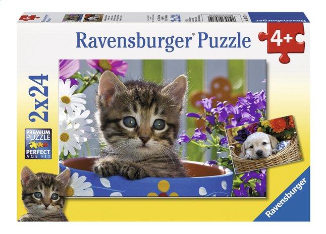 Image pour Ravensburger puzzle 2 en 1 Amis à quatre pattes à partir de DreamLand