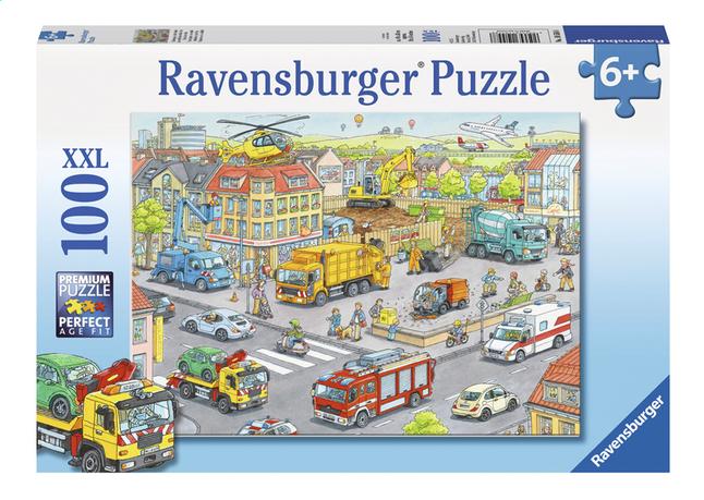 Afbeelding van Ravensburger XXL puzzel Voertuigen in de stad from DreamLand