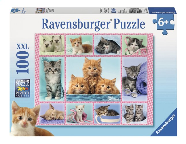 Afbeelding van Ravensburger XXL puzzel Schattige katjes from DreamLand