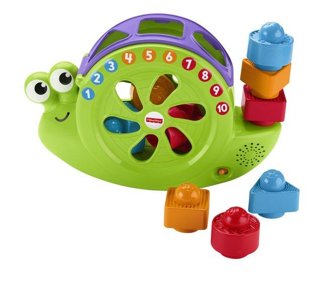 Fisher-Price jouet d'activité 3 en 1 Mon Ami l'Escargot