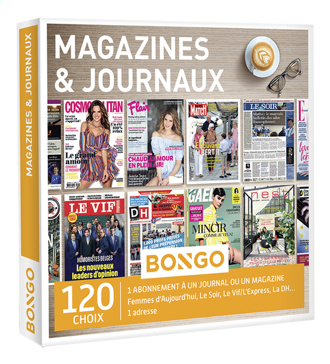 Afbeelding van Bongo Magazines & Journaux FR from DreamLand