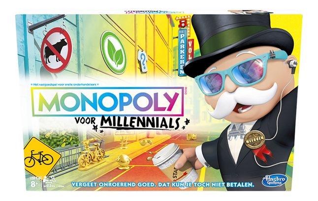 Afbeelding van Monopoly voor Millenials from DreamLand