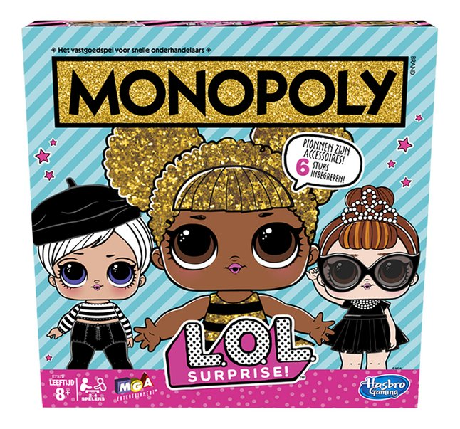 Afbeelding van Monopoly L.O.L. Surprise! from DreamLand