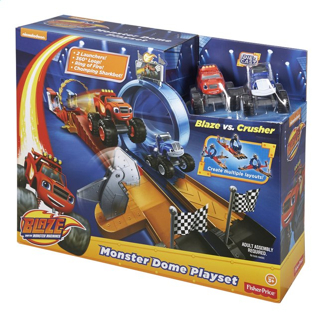 Afbeelding van Fisher-Price speelset Blaze en de Monsterwielen Monster Dome from DreamLand
