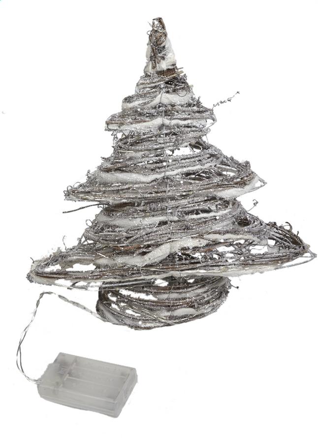 Afbeelding van Decoratie met ledverlichting kerstboom warm wit from DreamLand