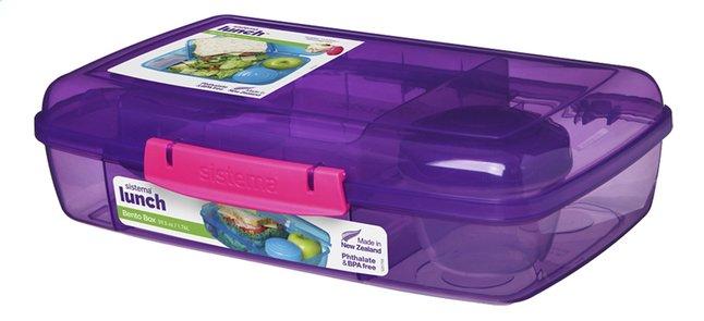 Afbeelding van Sistema lunchbox Bento Box Duo paars from DreamLand