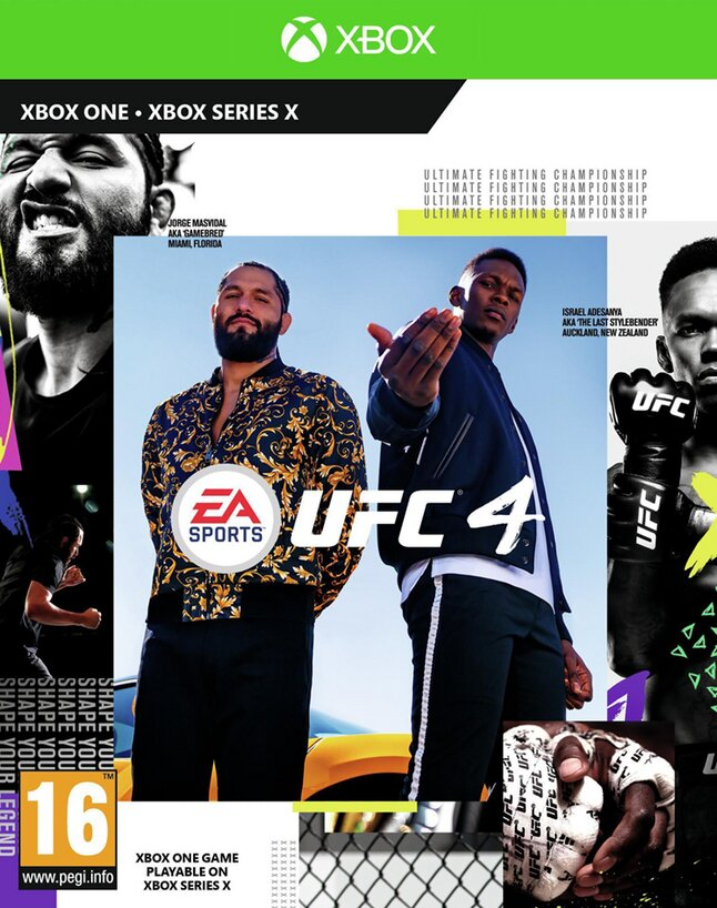 Xbox One & X Series UFC 4 ENG/FR