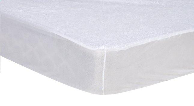 Protège-matelas (housse) tissu-éponge/polyuréthane (PU) Lg 90 x L 200 cm