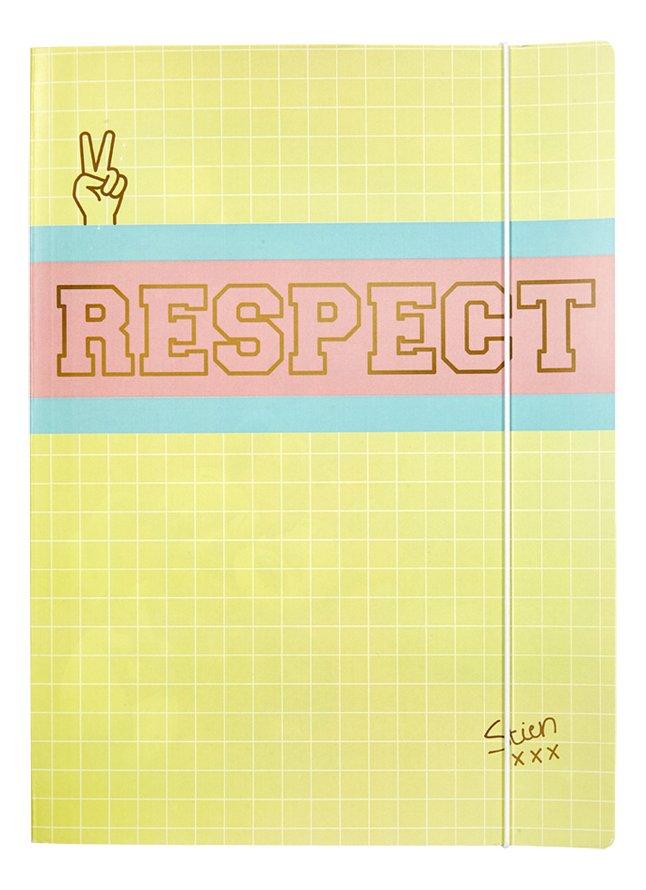 Afbeelding van Stien Edlund elastomap A4 Respect from DreamLand