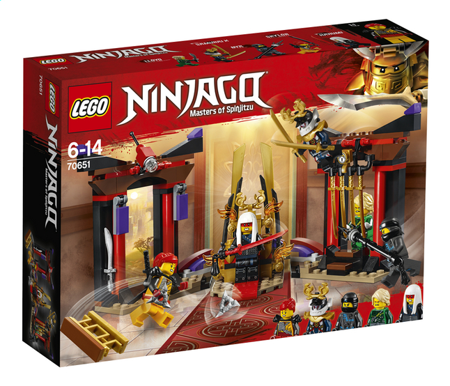 Afbeelding van LEGO Ninjago 70651 Troonzaalduel from DreamLand