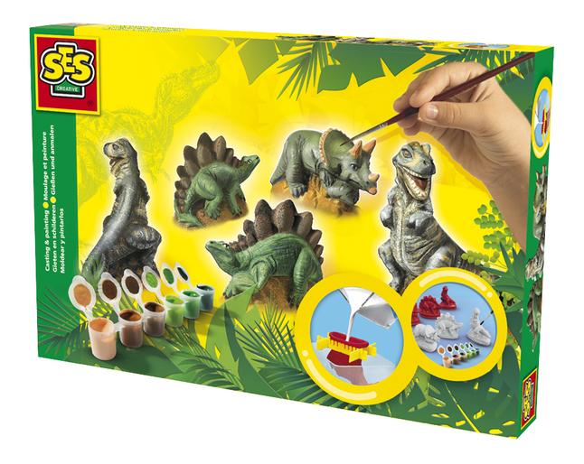 Afbeelding van SES Gieten en schilderen Dino from DreamLand