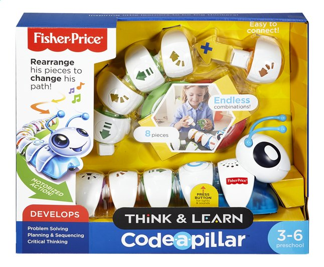 Image pour Fisher-Price Think & Learn La Chenille programmable à partir de DreamLand