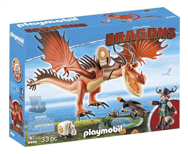 Image pour PLAYMOBIL Dragons 9459 Rustik et Krochefer à partir de DreamLand