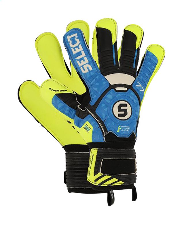Afbeelding van Select keeperhandschoenen 03 Youth zwart/blauw/geel from DreamLand