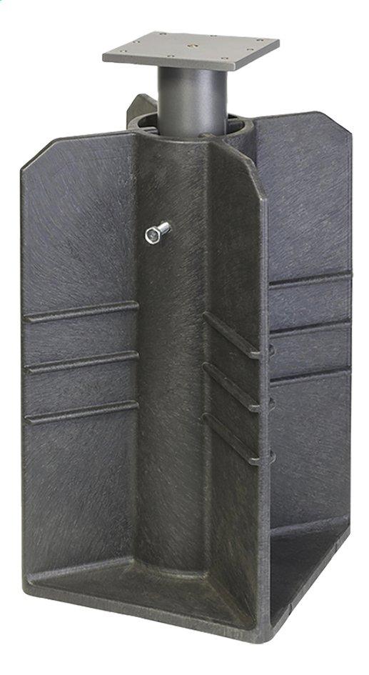 Platinum pied de parasol enterré Anthracite