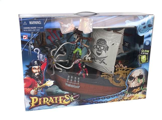 Image pour Set de jeu Pirates Captain Ship à partir de DreamLand