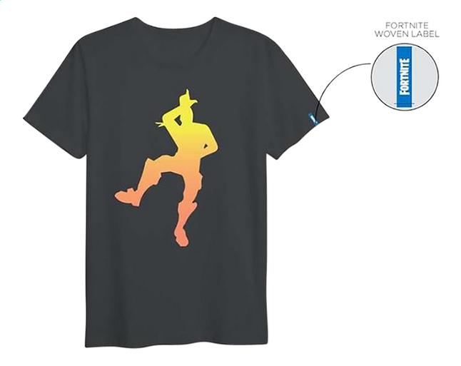 3c848066ad1 Image pour T-shirt à manches courtes Fortnite take the L noir XXL à partir