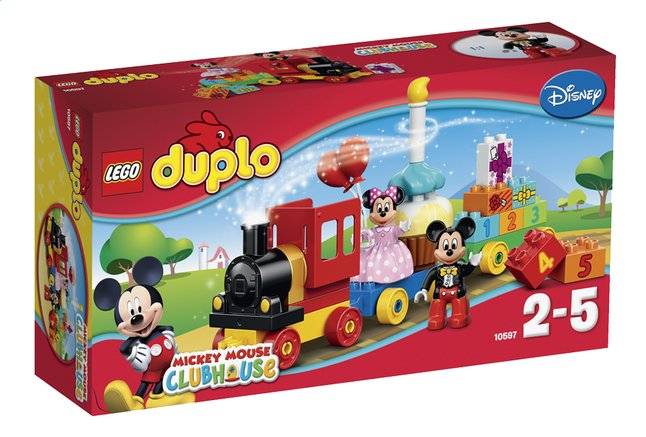 Afbeelding van LEGO DUPLO Mickey Mouse Clubhouse 10597 Mickey & Minnie Verjaardagsoptocht from DreamLand