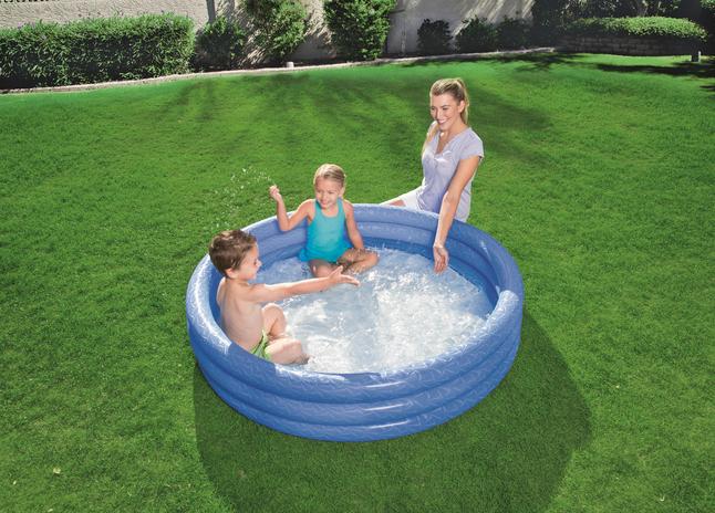 Bestway piscine pour enfants Play pool Ø 152 cm bleu