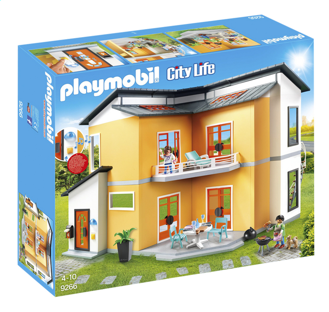 playmobil city life 9266 maison moderne dreamland. Black Bedroom Furniture Sets. Home Design Ideas