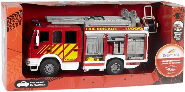 Afbeelding van DreamLand brandweerwagen 30 cm from DreamLand