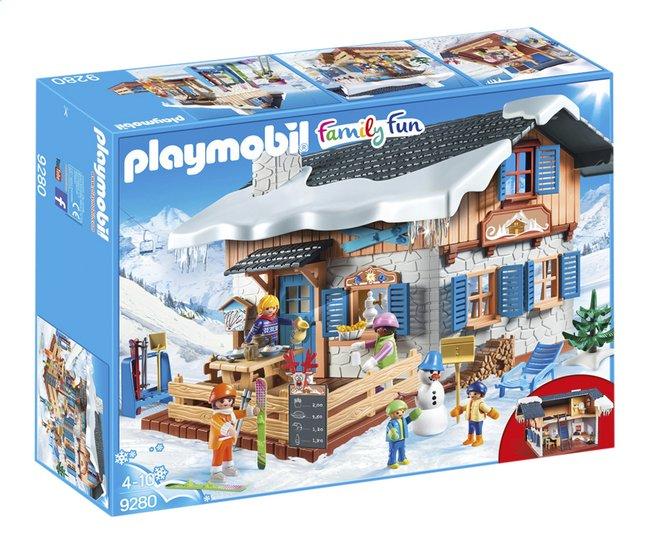 Image Pour PLAYMOBIL Family Fun 9280 Chalet Avec Skieurs à Partir De  DreamLand