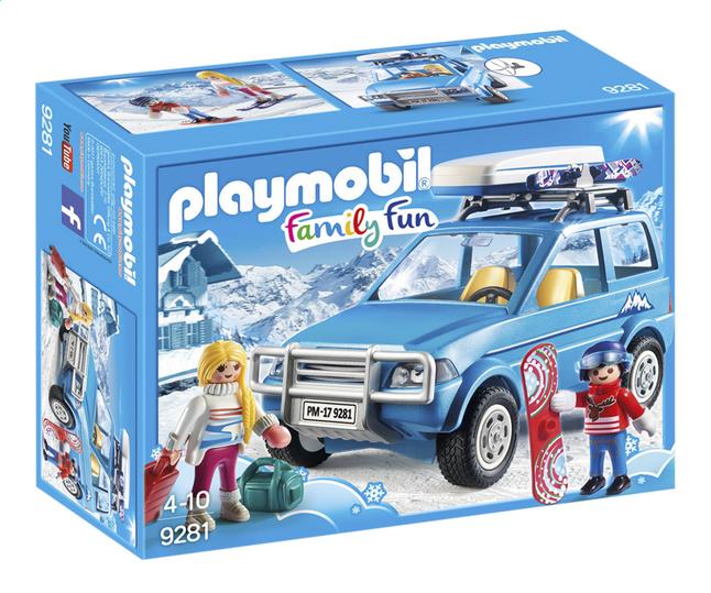 PLAYMOBIL Family Fun 9281 4x4 met dakkoffer
