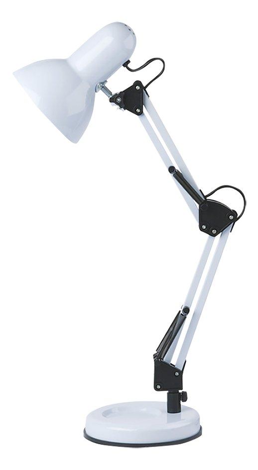 Afbeelding van Bureaulamp Hobby Steel wit from DreamLand