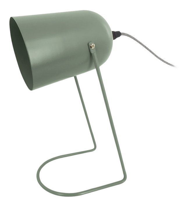 Bureaulamp Enchant Iron matt Grayed Jade