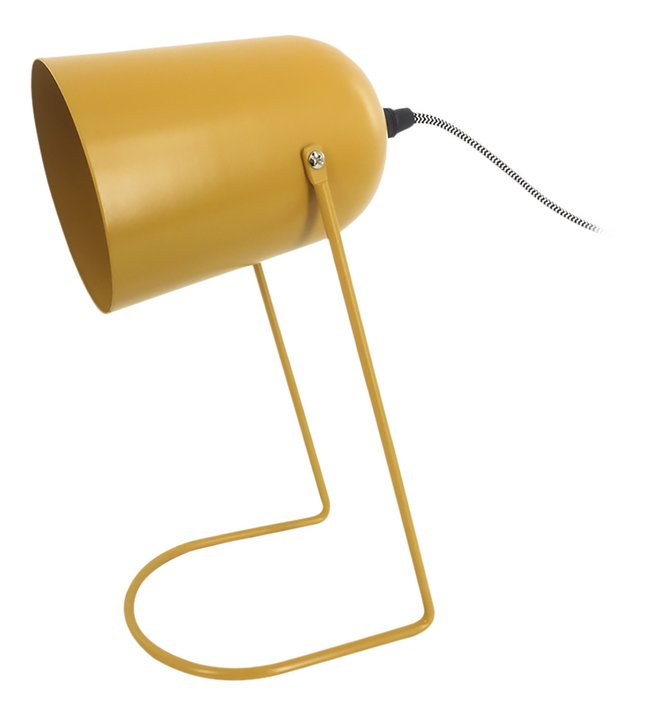 Afbeelding van Bureaulamp Enchant Iron matt Ochre Yellow from DreamLand