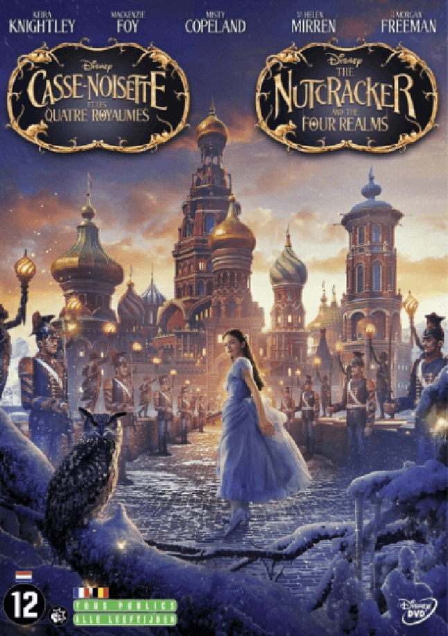 Afbeelding van Dvd The Nutcracker & The Four Realms from DreamLand