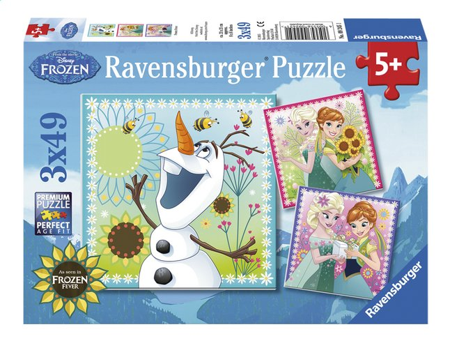 Afbeelding van Ravensburger Puzzel 3-in-1 Disney Frozen Fever from DreamLand